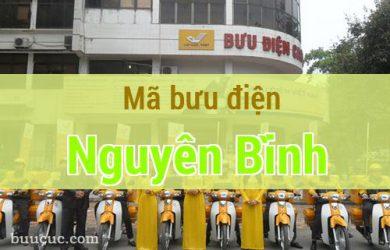 Mã bưu điện Nguyên Bình, Cao Bằng