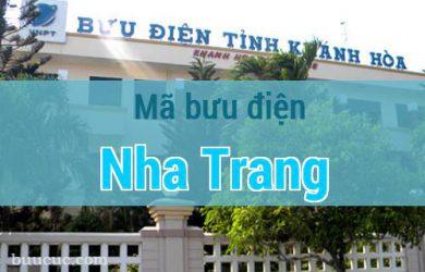 Mã bưu điện Nha Trang, Khánh Hoà