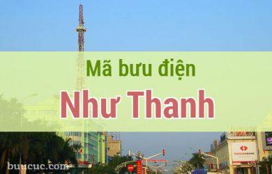 Mã bưu điện Như Thanh, Thanh Hoá
