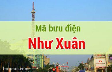 Mã bưu điện Như Xuân, Thanh Hoá