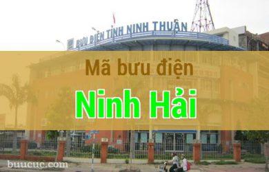 Mã bưu điện Ninh Hải, Ninh Thuận