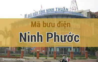 Mã bưu điện Ninh Phước, Ninh Thuận