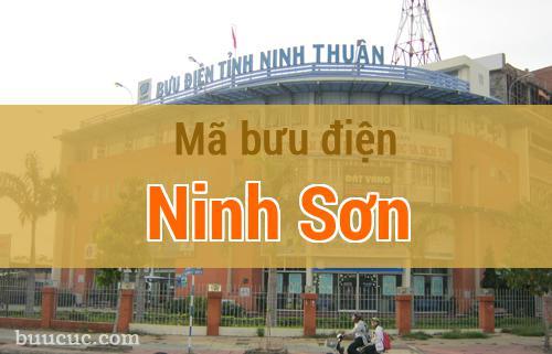 Mã bưu điện Ninh Sơn, Ninh Thuận