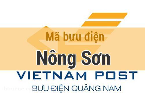 Mã bưu điện Nông Sơn, Quảng Nam