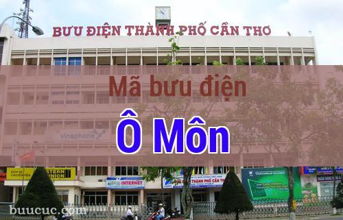 Mã bưu điện Ô Môn, Cần Thơ