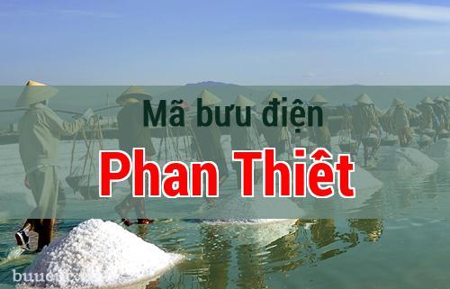 Mã bưu điện Phan Thiết, Bình Thuận