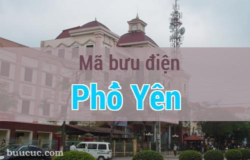 Mã bưu điện Phổ Yên, Thái Nguyên