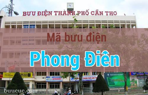 Mã bưu điện Phong Điền, Cần Thơ