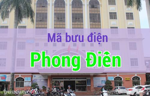 Mã bưu điện Phong Điền, Thừa Thiên Huế