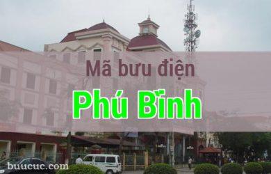 Mã bưu điện Phú Bình, Thái Nguyên