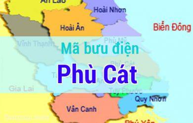 Mã bưu điện Phù Cát, Bình Định