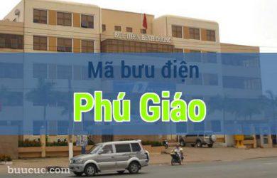 Mã bưu điện Phú Giáo, Bình Dương