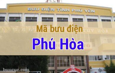 Mã bưu điện Phú Hòa, Phú Yên