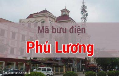 Mã bưu điện Phú Lương, Thái Nguyên