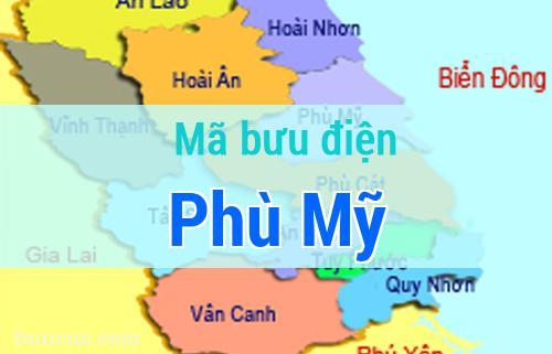 Mã bưu điện Phù Mỹ, Bình Định