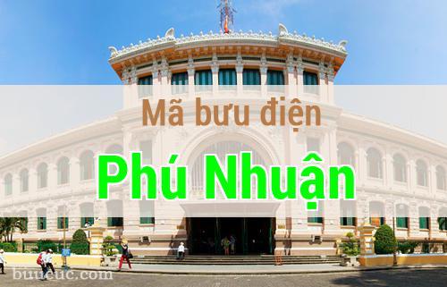Mã bưu điện Phú Nhuận, Hồ Chí Minh