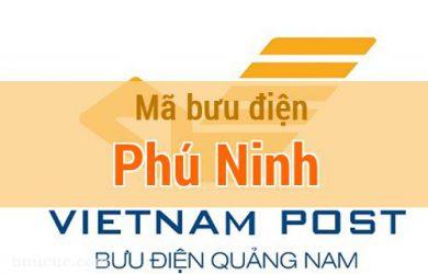 Mã bưu điện Phú Ninh, Quảng Nam