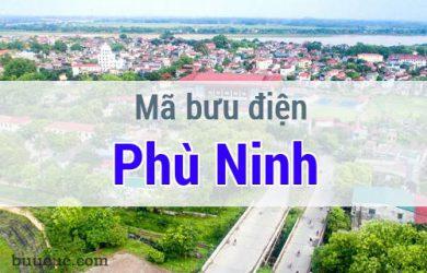 Mã bưu điện Phù Ninh, Phú Thọ