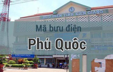 Mã bưu điện Phú Quốc, Kiên Giang