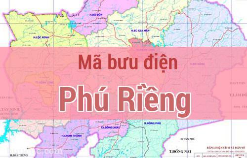 Mã bưu điện Phú Riềng, Bình Phước