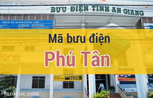 Mã bưu điện Phú Tân, An Giang