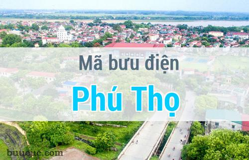 Mã bưu điện Phú Thọ, Phú Thọ