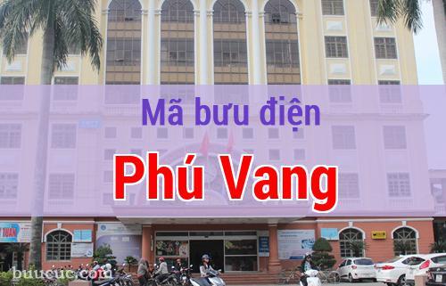 Mã bưu điện Phú Vang, Thừa Thiên Huế