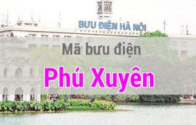 Mã bưu điện Phú Xuyên, Hà Nội
