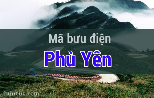 Mã bưu điện Phù Yên, Sơn La
