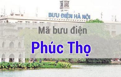 Mã bưu điện Phúc Thọ, Hà Nội