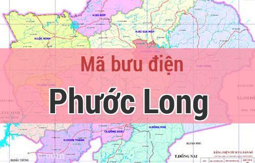 Mã bưu điện Phước Long, Bình Phước