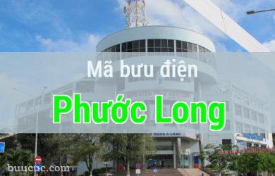 Mã bưu điện Phước Long, Bạc Liêu