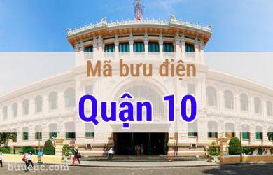 Mã bưu điện Quận 10, Hồ Chí Minh