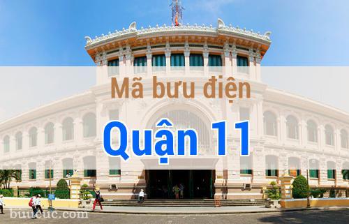 Mã bưu điện Quận 11, Hồ Chí Minh