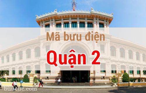 Mã bưu điện Quận 2, Hồ Chí Minh