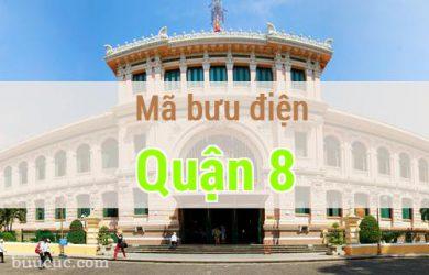 Mã bưu điện Quận 8, Hồ Chí Minh