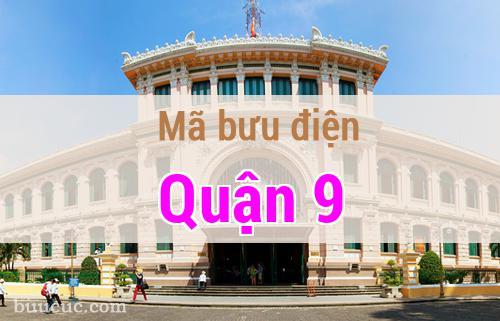 Mã bưu điện Quận 9, Hồ Chí Minh