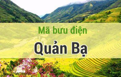Mã bưu điện Quản Bạ, Hà Giang