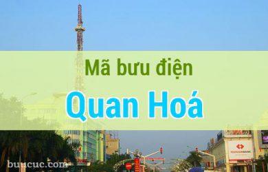 Mã bưu điện Quan Hoá, Thanh Hoá