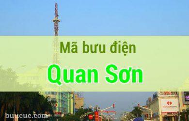 Mã bưu điện Quan Sơn, Thanh Hoá