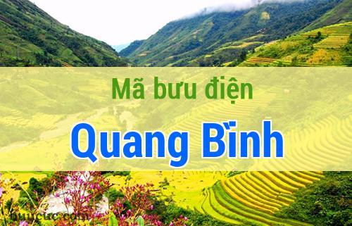 Mã bưu điện Quang Bình, Hà Giang