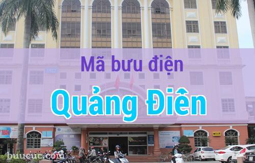 Mã bưu điện Quảng Điền, Thừa Thiên Huế