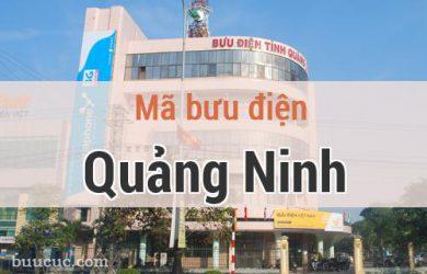 Mã bưu điện Quảng Ninh, Quảng Bình