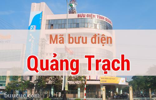 Mã bưu điện Quảng Trạch, Quảng Bình
