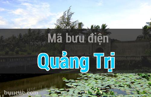 Mã bưu điện Quảng Trị, Quảng Trị