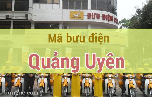 Mã bưu điện Quảng Uyên, Cao Bằng