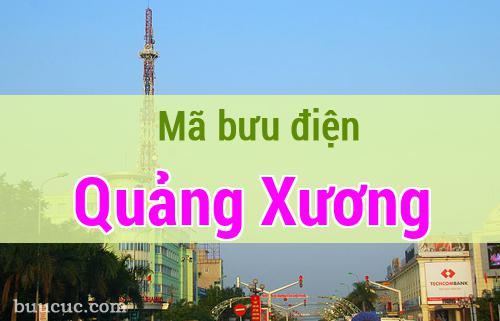 Mã bưu điện Quảng Xương, Thanh Hoá