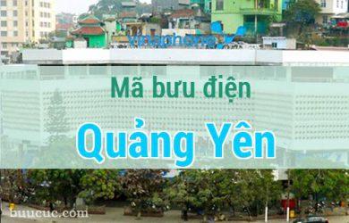 Mã bưu điện Quảng Yên, Quảng Ninh