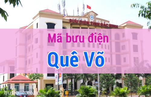 Mã bưu điện Quế Võ, Bắc Ninh
