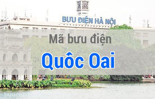 Mã bưu điện Quốc Oai, Hà Nội
